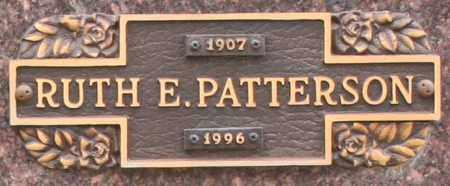 PATTERSON, RUTH E - Maricopa County, Arizona | RUTH E PATTERSON - Arizona Gravestone Photos