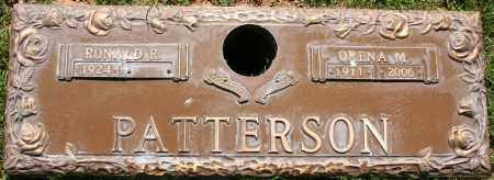 PATTERSON, ORENA M - Maricopa County, Arizona | ORENA M PATTERSON - Arizona Gravestone Photos
