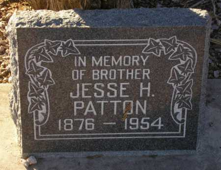 PATTON, JESSE H. - Maricopa County, Arizona | JESSE H. PATTON - Arizona Gravestone Photos