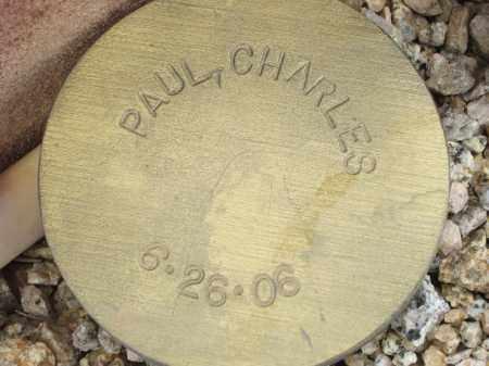 PAUL, CHARLES - Maricopa County, Arizona | CHARLES PAUL - Arizona Gravestone Photos