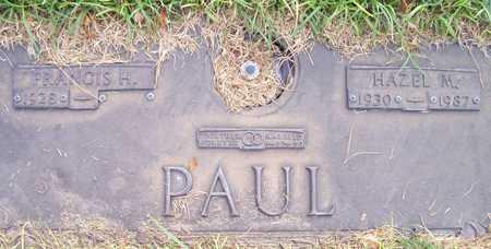 PAUL, FRANCIS H. - Maricopa County, Arizona | FRANCIS H. PAUL - Arizona Gravestone Photos