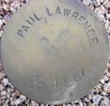 PAUL, LAWRENCE - Maricopa County, Arizona   LAWRENCE PAUL - Arizona Gravestone Photos