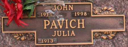 PAVICH, JULIA - Maricopa County, Arizona | JULIA PAVICH - Arizona Gravestone Photos