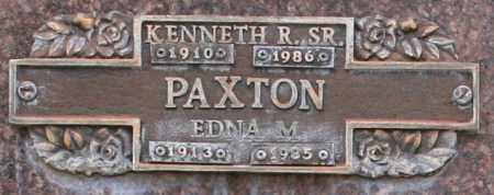 PAXTON, EDNA M - Maricopa County, Arizona   EDNA M PAXTON - Arizona Gravestone Photos