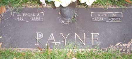 ANDERSON PAYNE, AGNES M. - Maricopa County, Arizona   AGNES M. ANDERSON PAYNE - Arizona Gravestone Photos