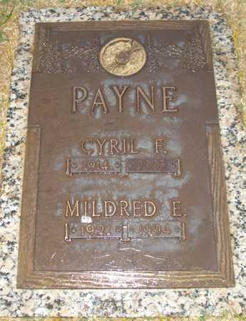 PAYNE, MILDRED E. - Maricopa County, Arizona | MILDRED E. PAYNE - Arizona Gravestone Photos