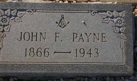 PAYNE, JOHN F(RANCIS) - Maricopa County, Arizona | JOHN F(RANCIS) PAYNE - Arizona Gravestone Photos