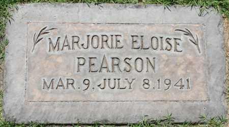 PEARSON, MARJORIE ELOISE - Maricopa County, Arizona | MARJORIE ELOISE PEARSON - Arizona Gravestone Photos