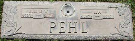 PEHL, JULIUS W - Maricopa County, Arizona | JULIUS W PEHL - Arizona Gravestone Photos