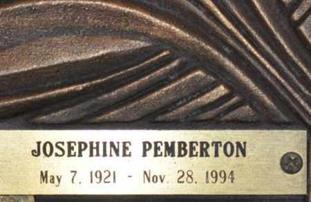 PEMBERTON, JOSEPHINE MARY - Maricopa County, Arizona | JOSEPHINE MARY PEMBERTON - Arizona Gravestone Photos