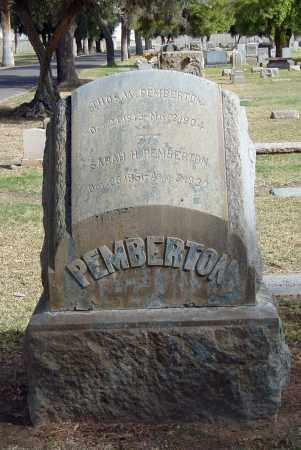 WIGGINS PEMBERTON, SARAH H. - Maricopa County, Arizona   SARAH H. WIGGINS PEMBERTON - Arizona Gravestone Photos