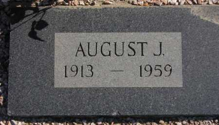 PENDERGAST, AUGUST J. - Maricopa County, Arizona | AUGUST J. PENDERGAST - Arizona Gravestone Photos