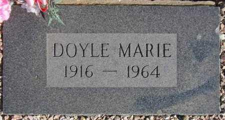 PENDERGAST, DOYLE MARIE - Maricopa County, Arizona | DOYLE MARIE PENDERGAST - Arizona Gravestone Photos
