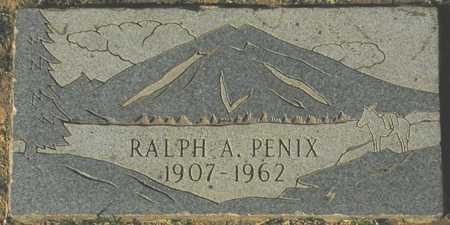 PENIX, RALPH A. - Maricopa County, Arizona | RALPH A. PENIX - Arizona Gravestone Photos