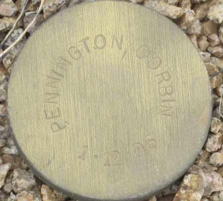 PENNINGTON, CORBIN - Maricopa County, Arizona | CORBIN PENNINGTON - Arizona Gravestone Photos