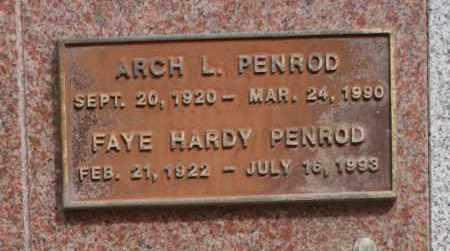 PENROD, FAYE HARDY - Maricopa County, Arizona | FAYE HARDY PENROD - Arizona Gravestone Photos