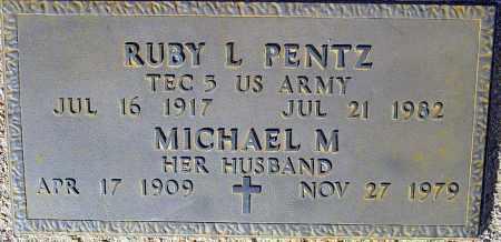 PENTZ, RUBY L. - Maricopa County, Arizona | RUBY L. PENTZ - Arizona Gravestone Photos