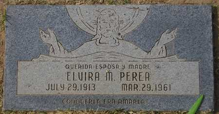 PEREA, ELVIRA M. - Maricopa County, Arizona | ELVIRA M. PEREA - Arizona Gravestone Photos