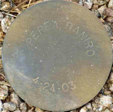 PEREA, RANIRO - Maricopa County, Arizona | RANIRO PEREA - Arizona Gravestone Photos