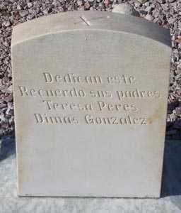 GONZALEZ, DIMAS - Maricopa County, Arizona   DIMAS GONZALEZ - Arizona Gravestone Photos