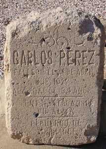 PEREZ, CARLOS - Maricopa County, Arizona | CARLOS PEREZ - Arizona Gravestone Photos