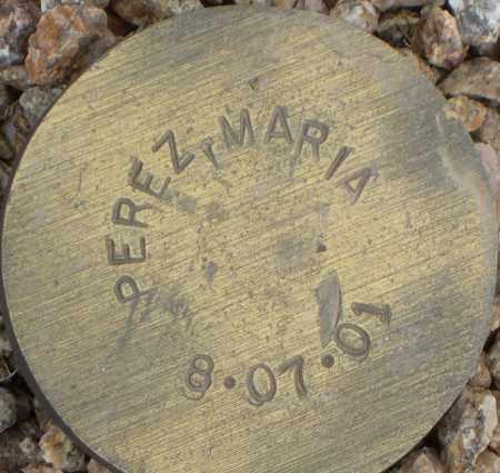 PEREZ, MARIA - Maricopa County, Arizona | MARIA PEREZ - Arizona Gravestone Photos