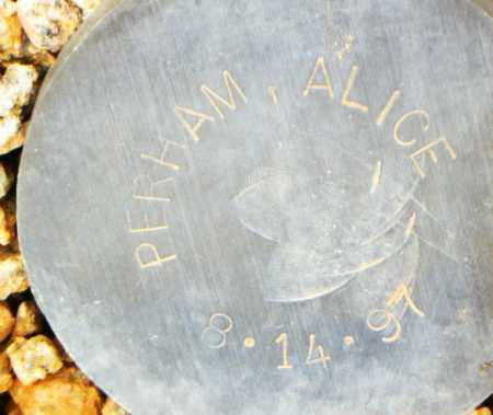 PERHAM, ALICE - Maricopa County, Arizona | ALICE PERHAM - Arizona Gravestone Photos