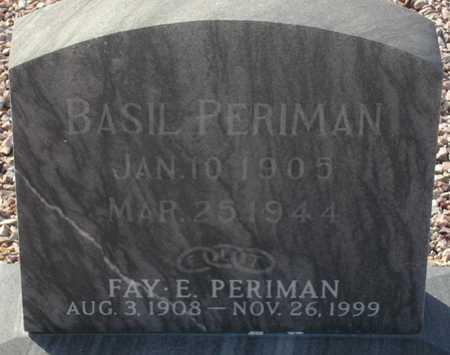 PERIMAN, BASIL - Maricopa County, Arizona | BASIL PERIMAN - Arizona Gravestone Photos