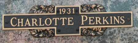 PERKINS, CHARLOTTE - Maricopa County, Arizona   CHARLOTTE PERKINS - Arizona Gravestone Photos