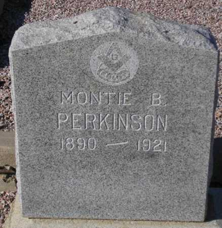 PERKINSON, MONTIE B(ROOKS) - Maricopa County, Arizona | MONTIE B(ROOKS) PERKINSON - Arizona Gravestone Photos