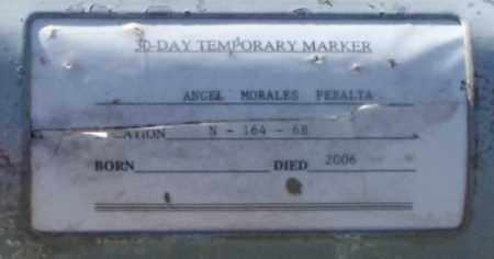 PERALTA, ANGEL MORALES - Maricopa County, Arizona | ANGEL MORALES PERALTA - Arizona Gravestone Photos
