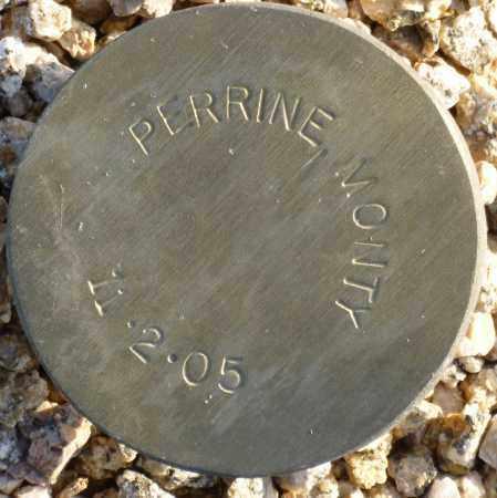PERRINE, MONTY - Maricopa County, Arizona | MONTY PERRINE - Arizona Gravestone Photos