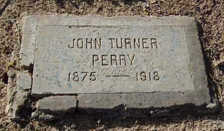 PERRY, JOHN TURNER - Maricopa County, Arizona | JOHN TURNER PERRY - Arizona Gravestone Photos