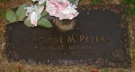 PETERS, CAROLINE M. - Maricopa County, Arizona | CAROLINE M. PETERS - Arizona Gravestone Photos