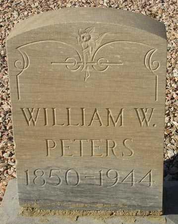 PETERS, WILLIAM W. - Maricopa County, Arizona | WILLIAM W. PETERS - Arizona Gravestone Photos