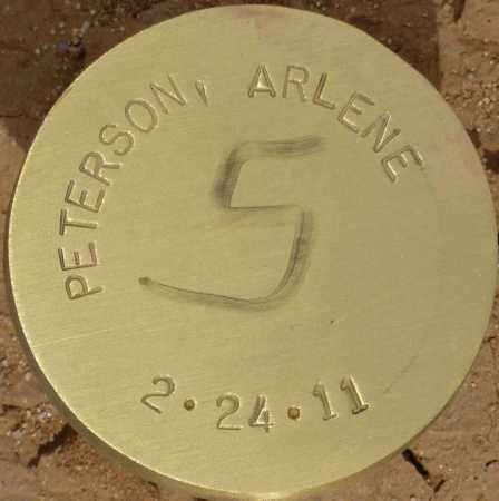 PETERSON, ARLENE - Maricopa County, Arizona | ARLENE PETERSON - Arizona Gravestone Photos