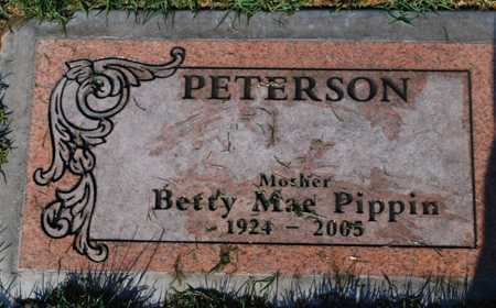 PIPPIN PETERSON, BETTY MAE - Maricopa County, Arizona | BETTY MAE PIPPIN PETERSON - Arizona Gravestone Photos
