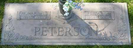PETERSON, LILA V - Maricopa County, Arizona | LILA V PETERSON - Arizona Gravestone Photos