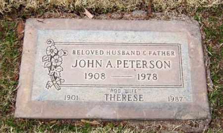 PETERSON, JOHN A. - Maricopa County, Arizona | JOHN A. PETERSON - Arizona Gravestone Photos