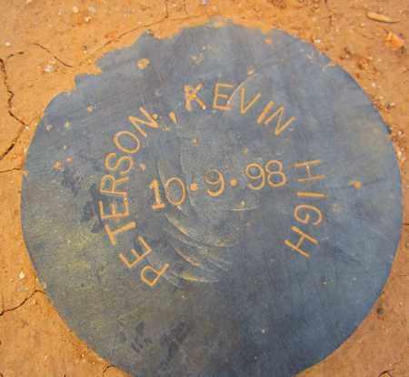 PETERSON, KEVIN HIGH - Maricopa County, Arizona   KEVIN HIGH PETERSON - Arizona Gravestone Photos