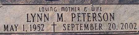 PETERSON, LYNN M. - Maricopa County, Arizona | LYNN M. PETERSON - Arizona Gravestone Photos