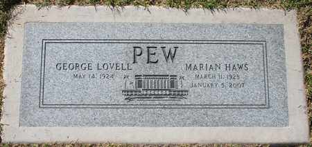 HAWS PEW, MARIAN PEARL - Maricopa County, Arizona | MARIAN PEARL HAWS PEW - Arizona Gravestone Photos
