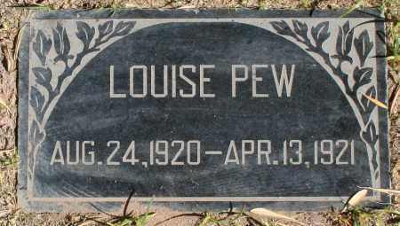PEW, LOUISE - Maricopa County, Arizona   LOUISE PEW - Arizona Gravestone Photos