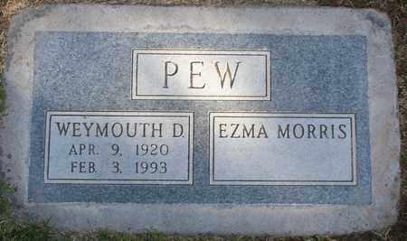 MORRIS PEW, EZMA - Maricopa County, Arizona | EZMA MORRIS PEW - Arizona Gravestone Photos