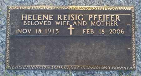 REISIG PFEIFER, HELENE - Maricopa County, Arizona | HELENE REISIG PFEIFER - Arizona Gravestone Photos