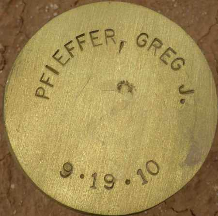 PFIEFFER, GREG J. - Maricopa County, Arizona | GREG J. PFIEFFER - Arizona Gravestone Photos