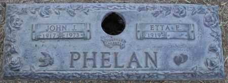 PHELAN, ETTA E. - Maricopa County, Arizona | ETTA E. PHELAN - Arizona Gravestone Photos