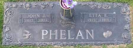 PHELAN, ETTA ELIZABETH - Maricopa County, Arizona | ETTA ELIZABETH PHELAN - Arizona Gravestone Photos