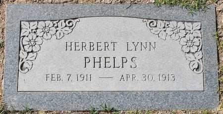 PHELPS, HERBERT LYNN - Maricopa County, Arizona | HERBERT LYNN PHELPS - Arizona Gravestone Photos