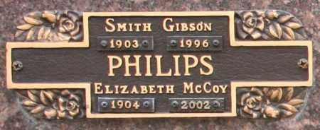 PHILIPS, ELIZABETH MCCOY - Maricopa County, Arizona | ELIZABETH MCCOY PHILIPS - Arizona Gravestone Photos